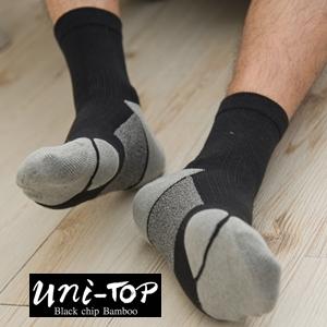 扁平足健康氣墊襪-男